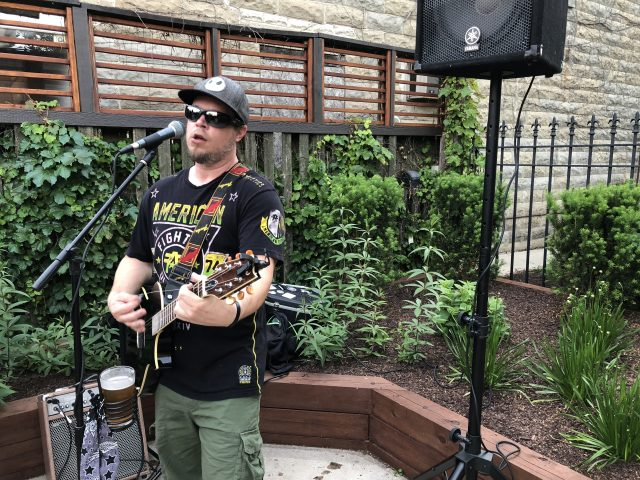 "7/15/18- LIVE MUSIC in ""The Garden"" by ""Jeff Walski"""