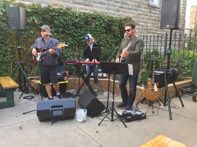 "8/12/18- LIVE MUSIC in ""The Garden"" by ""Doghouse Roses"""